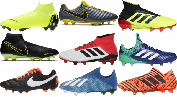 Save 49% on Soccer Cleats (492 Models