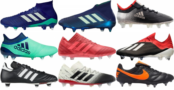 buy soft ground soccer cleats for men and women