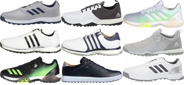 buy spikeless adidas golf shoes for men and women