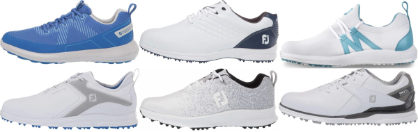 buy spikeless footjoy golf shoes for men and women