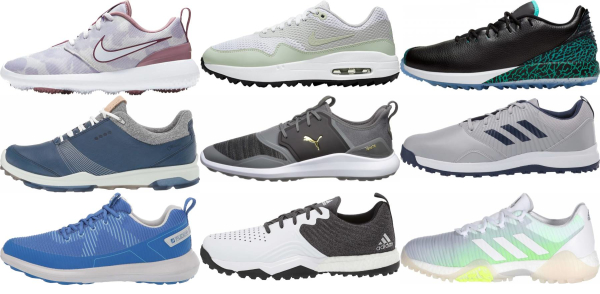 buy spikeless golf shoes for men and women