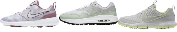 buy spikeless nike golf shoes for men and women