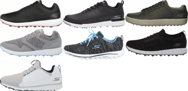 buy spikeless skechers golf shoes for men and women
