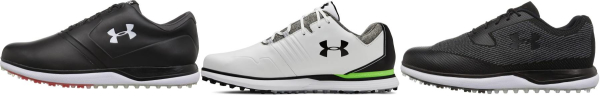 buy spikeless under armour golf shoes for men and women