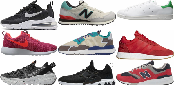 buy sporty sneakers for men and women
