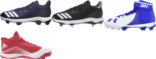 buy stealtrax plate baseball cleats for men and women
