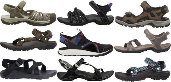buy strappy hiking sandals for men and women