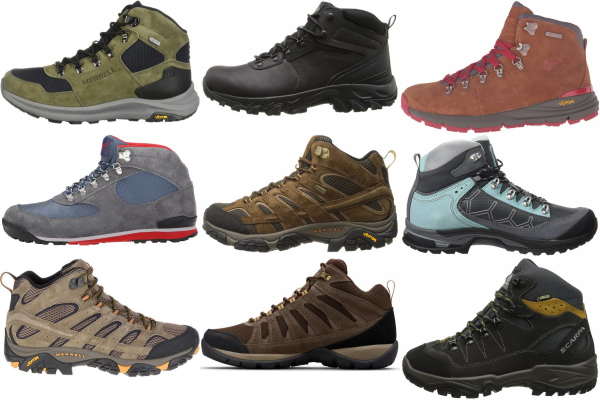 buy suede hiking boots for men and women