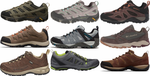 buy suede hiking shoes for men and women