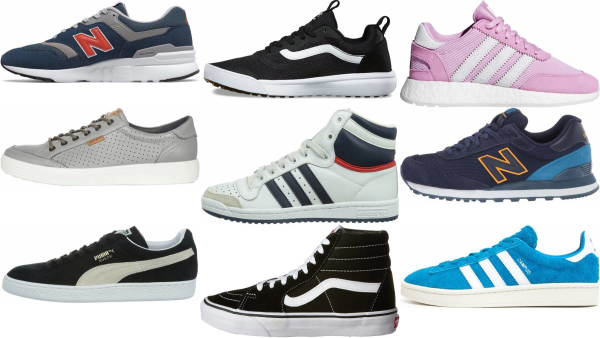 buy suede sneakers for men and women