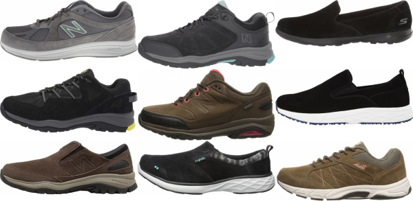 buy suede upper walking shoes for men and women