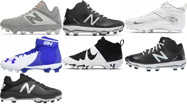 buy synthetic baseball cleats for men and women
