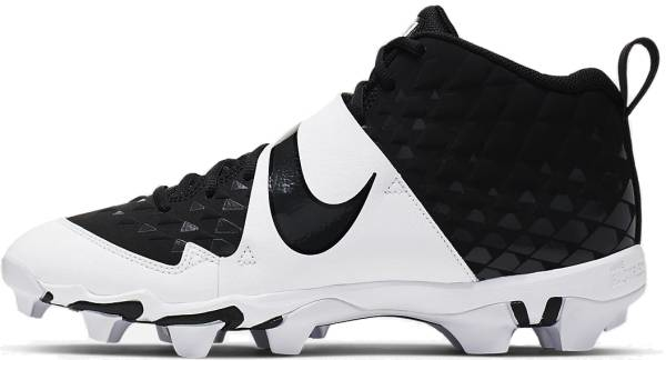 buy synthetic black baseball cleats for men and women