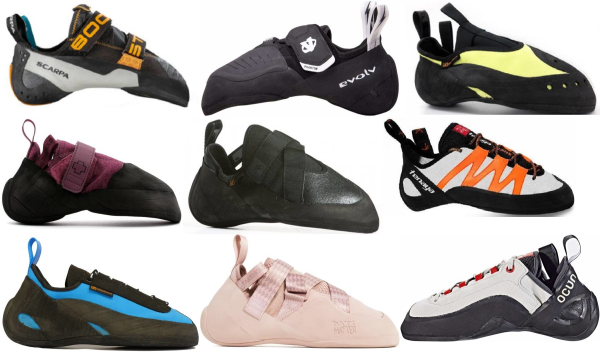 buy synthetic climbing shoes for men and women