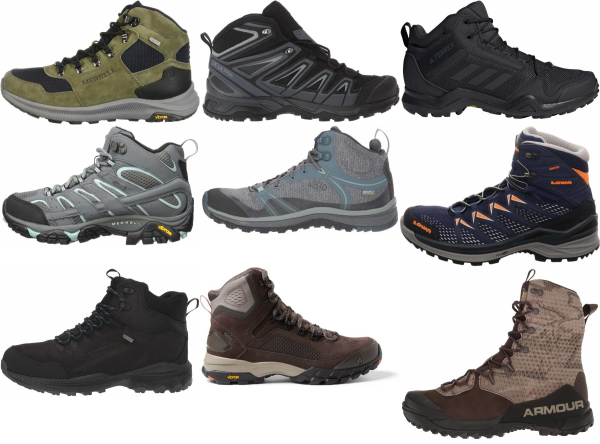 buy synthetic hiking boots for men and women