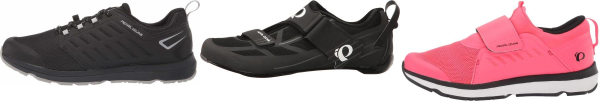 buy synthetic/mesh upper pearl izumi cycling shoes for men and women