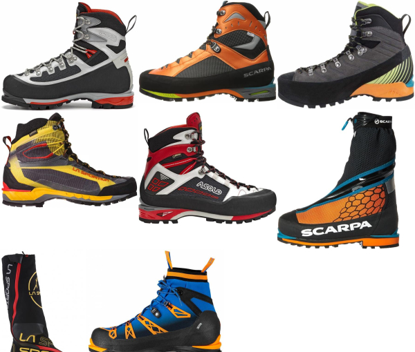 buy synthetic mountaineering boots for men and women