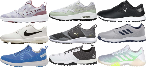 buy synthetic upper golf shoes for men and women