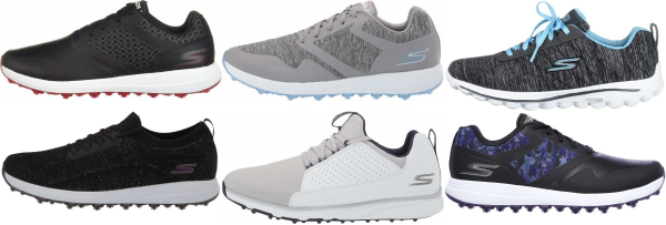 buy synthetic upper skechers golf shoes for men and women