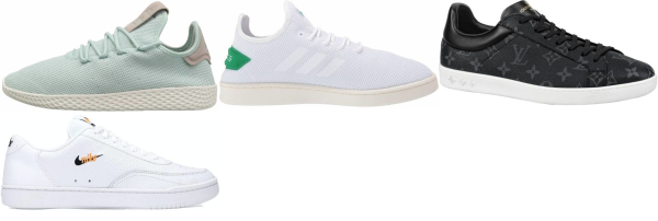 buy tennis synthetic lace sneakers for men and women