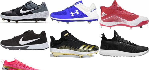 buy textile baseball cleats for men and women