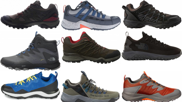buy the north face lightweight hiking shoes for men and women