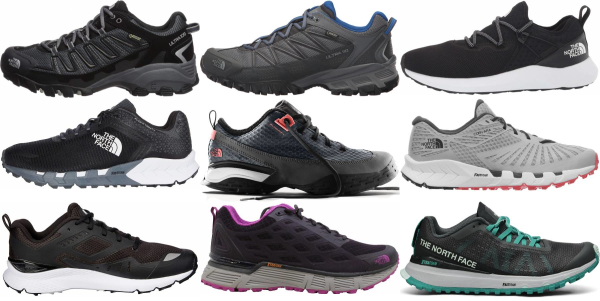 buy the north face running shoes for men and women