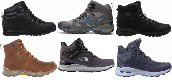 buy the north face waterproof hiking boots for men and women