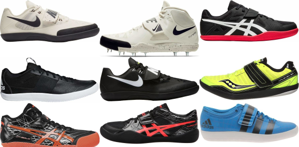 buy throwing track & field shoes for men and women