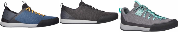buy tongue pull loop knit upper approach shoes for men and women