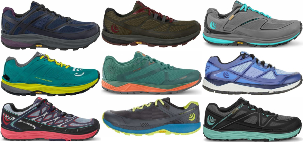 buy topo athletic  trail running shoes for men and women