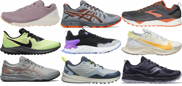 buy trail breathable running shoes for men and women