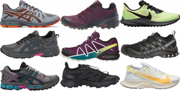 buy trail heel strike running shoes for men and women