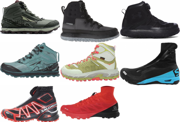Trail High-top Running Shoes