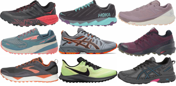buy trail long distance running shoes for men and women