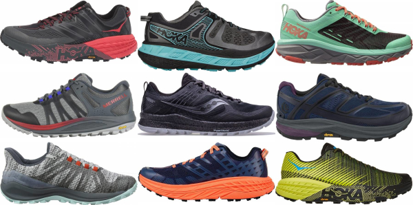 buy trail maximalist running shoes for men and women