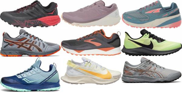 buy trail mesh upper running shoes for men and women