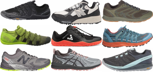 buy trail minimalist running shoes for men and women