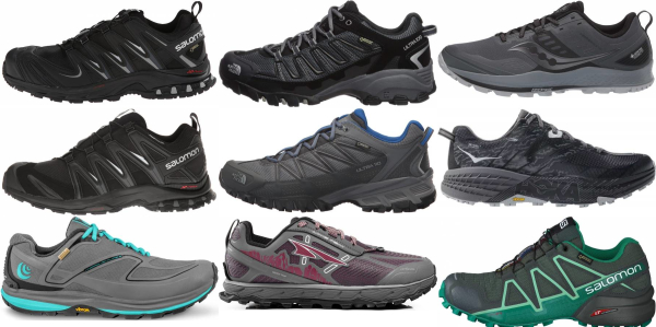 buy trail waterproof running shoes for men and women