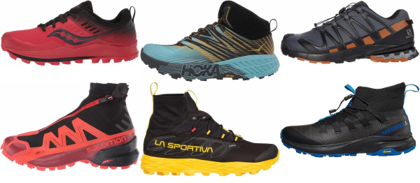 buy trail winter running shoes for men and women