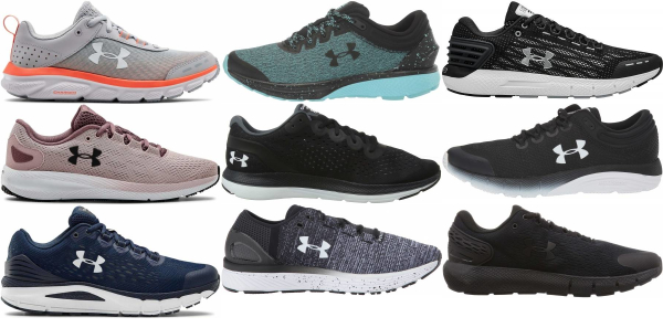 buy under armour charged running shoes for men and women