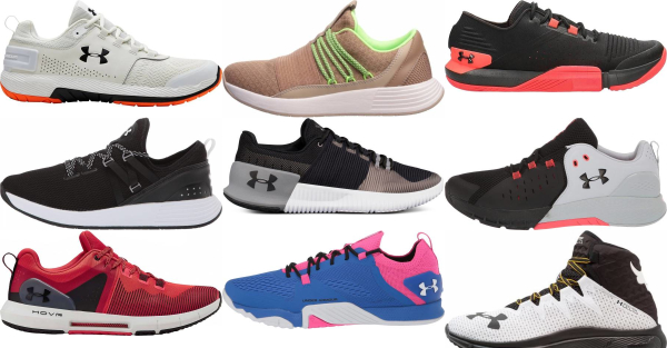 buy under armour cross-training shoes for men and women