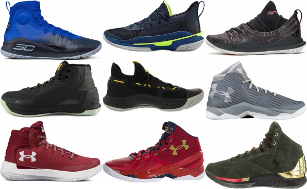 buy under armour curry basketball shoes for men and women