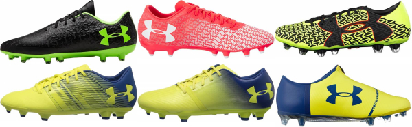 buy under armour firm ground soccer cleats for men and women