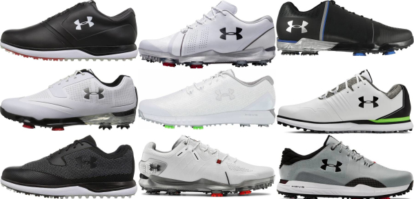 buy under armour golf shoes for men and women