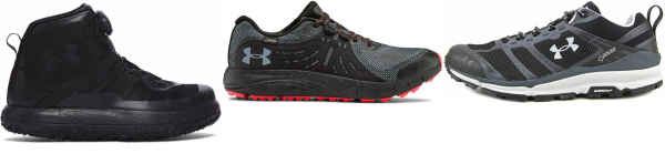 buy under armour gore-tex running shoes for men and women