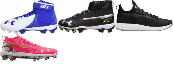 buy under armour harper baseball cleats for men and women