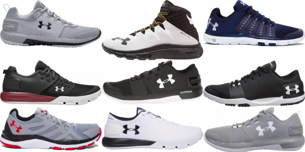 buy under armour high drop training shoes for men and women