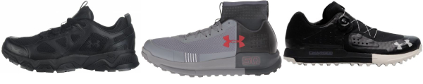 buy under armour hiking shoes for men and women