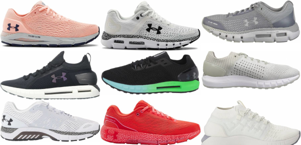 buy under armour hovr running shoes for men and women
